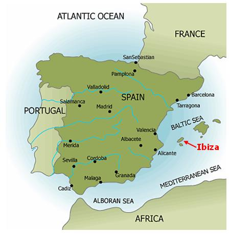 Map Of Ibiza Spain Related ...