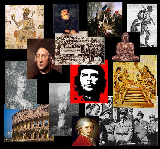 Ancient World History Collage
